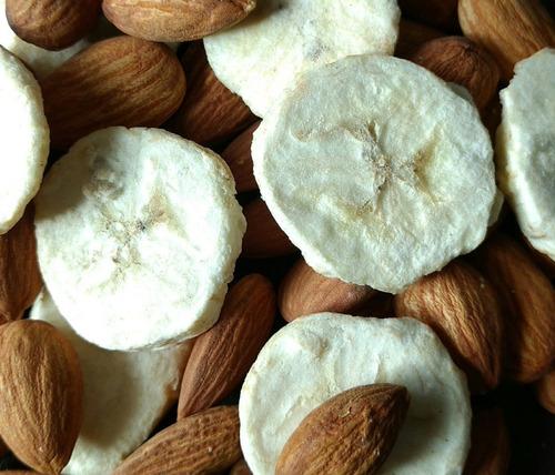3x snack saludable liofilizado banana mix snat 10g sin tacc