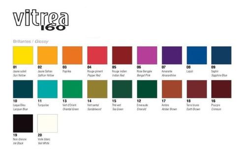 3x tinta porcelana vitrea pebeo 150 *escolha*cores*