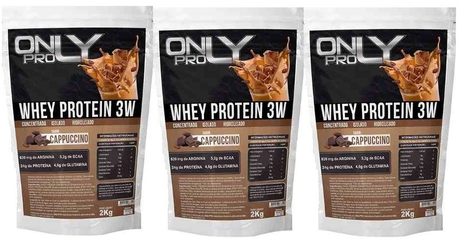 0bd45a1f9 3x whey protein 3w 6 kilos wey way proteina isolada blend. Carregando zoom.