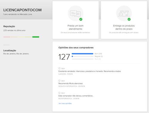 3x windows server 2012 r2 std esd + 50 calsrds  nota fiscal