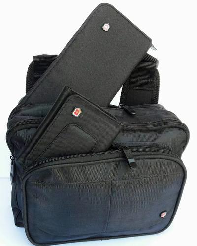 3x1 bolso, cherquera y billetera victorinox