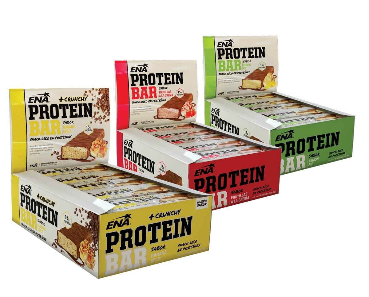 1d06495e5 3x2 Caja De Protein Bar Ena 16ud X Caja.barra De Proteinas ...