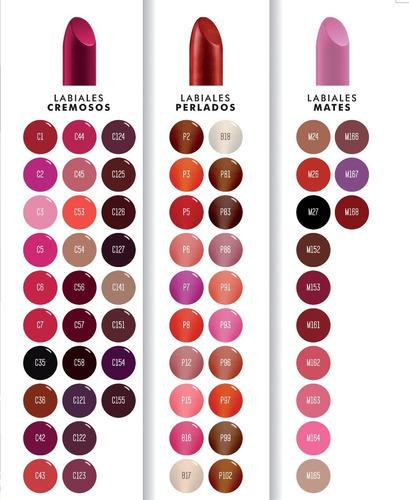 3x2 labial en barra todos los colores a eleccion xúlu  z251