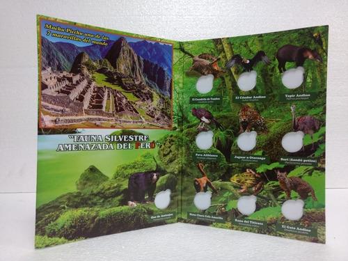 3x20 soles - album porta monedas peruanas
