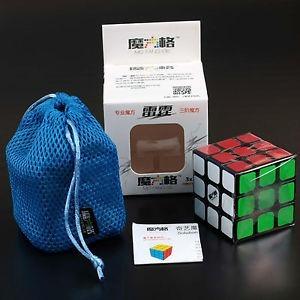 3x3x3 qiyi thunderclap cubo mágico de rubik para speedcubing