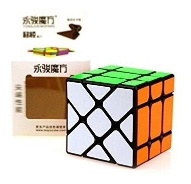 3x3x3 yj fisher v2 cubo mágico de rubik para speedcubing!