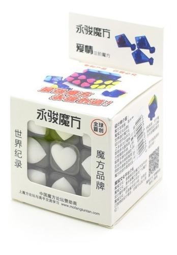 3x3x3 yj heart tiled cubo mágico de rubik para speedcubing!