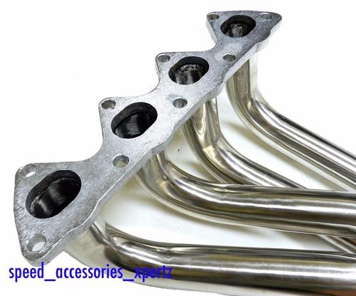 4-1 acero header tubo colector / escape serie b cívic eg