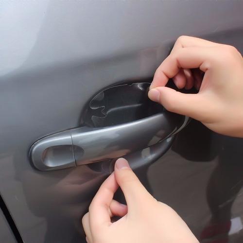 4 adesivos protetor maçaneta de porta de carro frete grátis