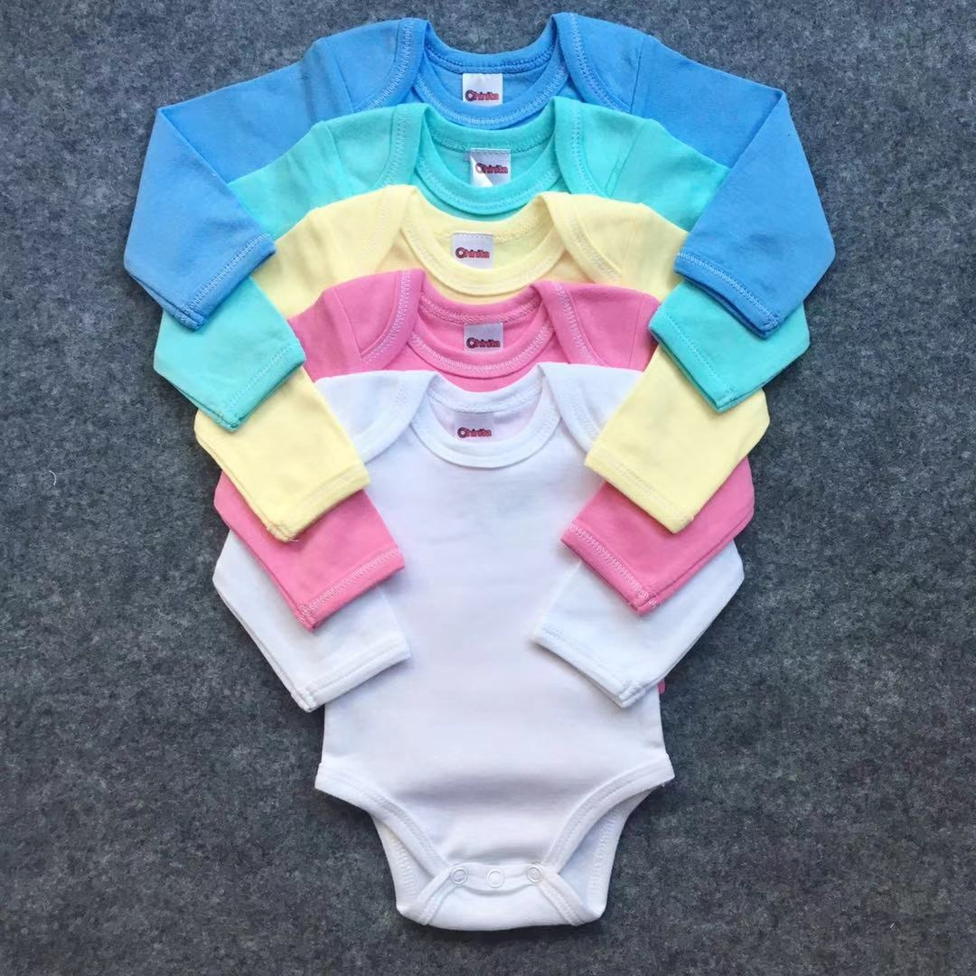 aa51b64ccfa 4 Ajuar Body+panty+camiseta Para Bebé Algodón Recién Nacido ...