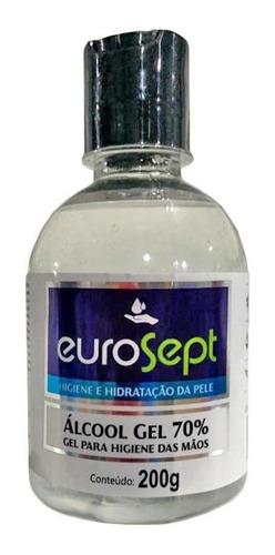 4 álcool 70% gel antisséptico 200g pronta entrega