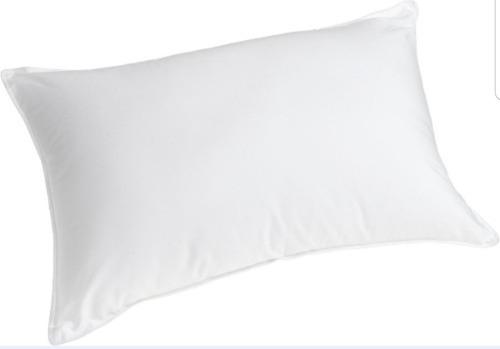 4 almohadas en fibra 100% siliconada - color
