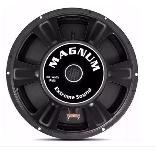 4 alto falante magnum woofer trio 8 350w rms medio 8 ohms