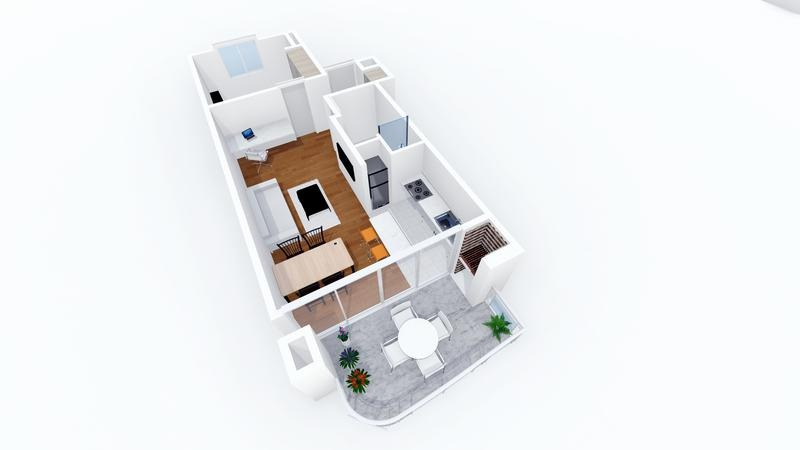 4 amb al frente c/ balcon y parrilla propia - destino 3335