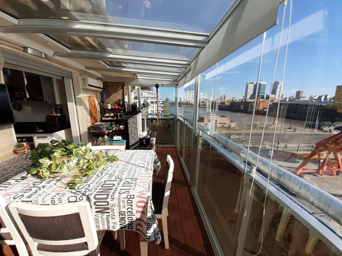 4 amb c/terraza al dique y parrilla ba houses