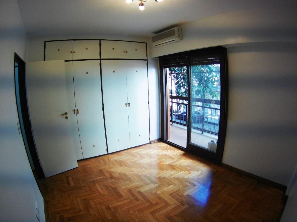 4 amb - frente - 2 baños - lavadero indep.  balcon - patio