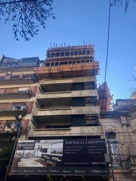 4 amb + terraza en construcción en venta - belgrano