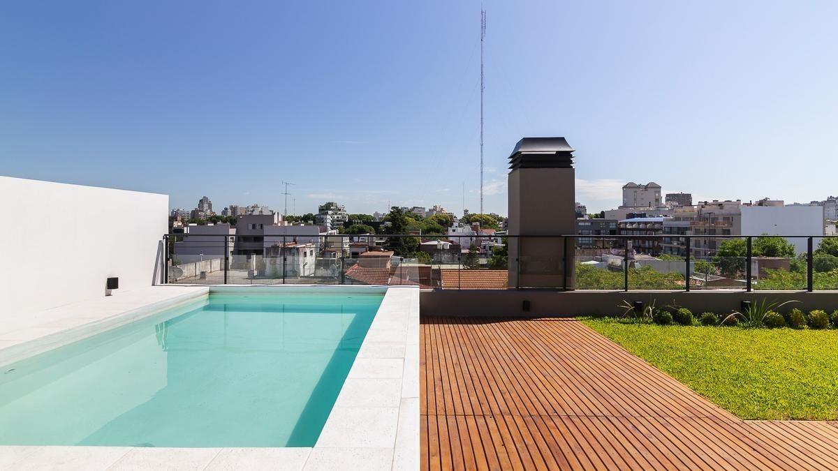 4 amb terraza, pileta y parrilla privada!  263 m2 totales