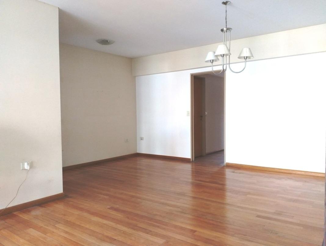 4 amb.excelente piso 125 m2 fte boulevar balc.aterraz.suite