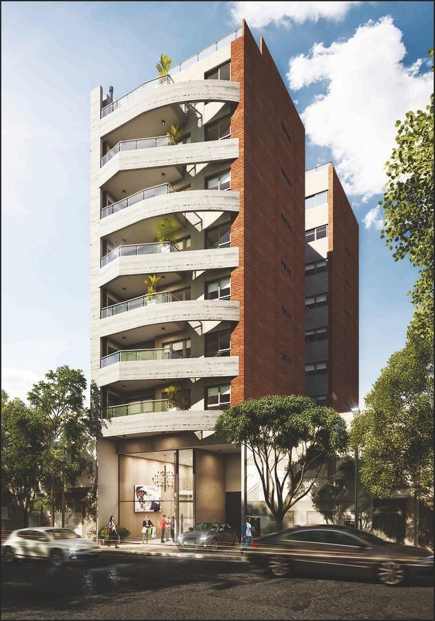 4 ambientes con balcón y parrilla individual en caballito