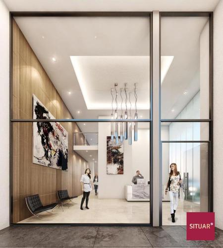 4 ambientes con parrilla individual en etapa de construcción