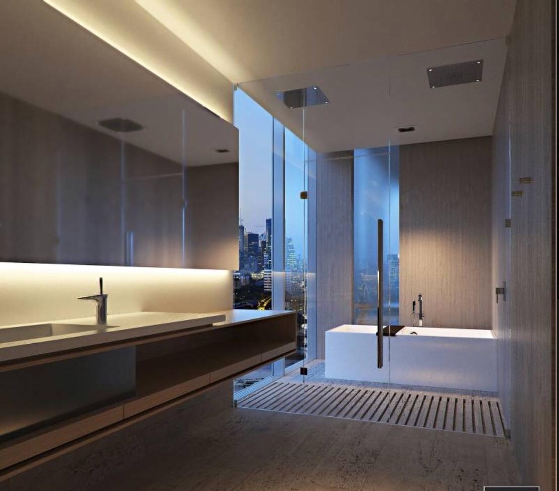4 ambientes piso alto sls lux puerto madero c/2 cocheras