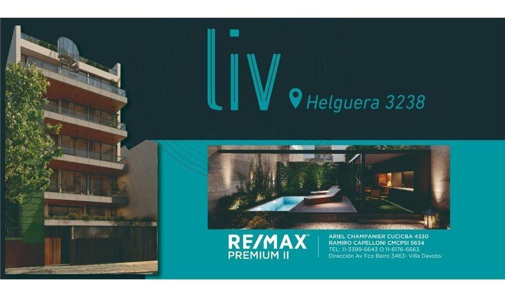4 ambientes, semipiso 108 m2  villa del parque.