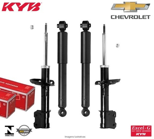 4 amortecedorres kayaba gm zafira todos os modelos 2001 a 12