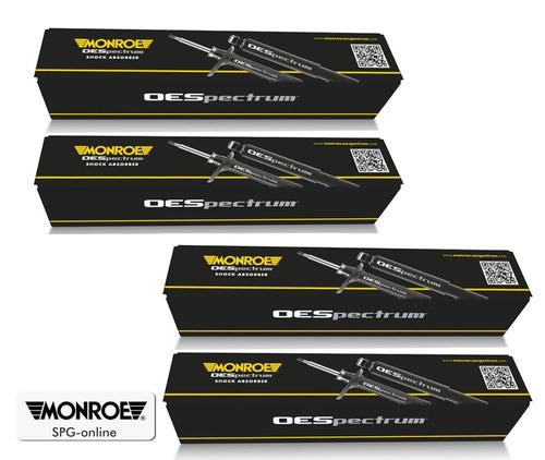 4 amortiguadores mercedes e500 2003 03 monroe 0088