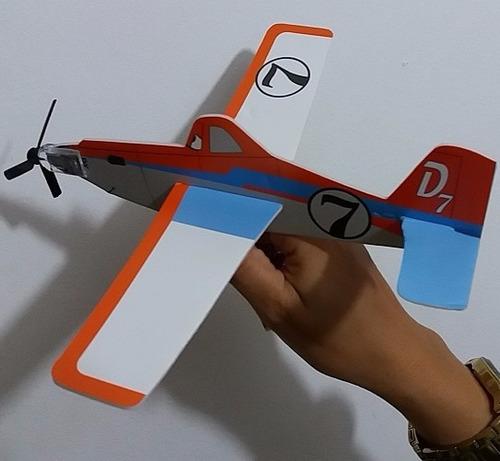 4 avião lançar isopor filme aviões disney dusty