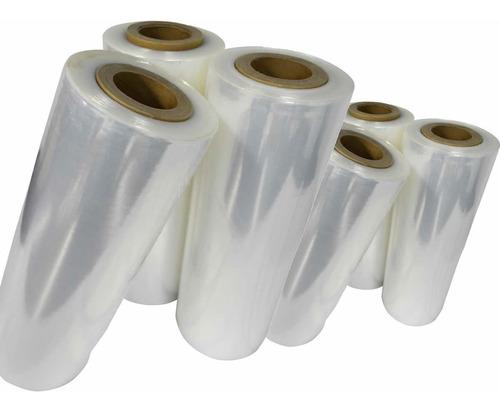 4 bobinas de filme stretch 4,00 kg 50 cm x 225 metros