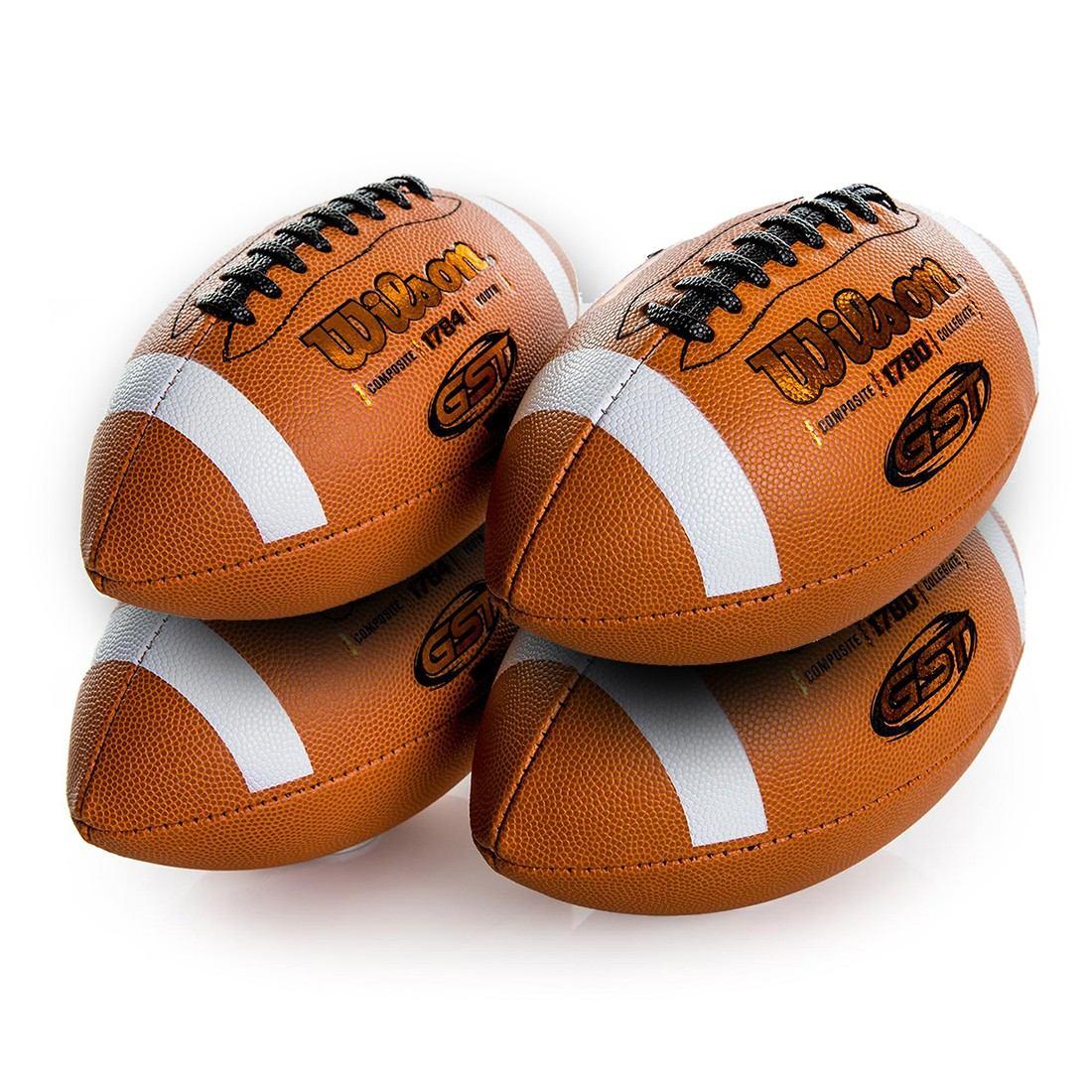 4 bolas futebol americano wilson gst composite oficial nfl. Carregando zoom. 6fcda6c4167d5