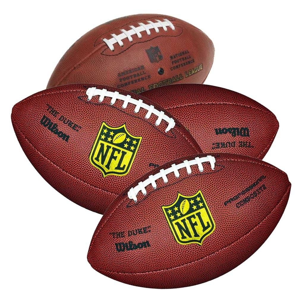 99b25ded5 4 bolas futebol americano wilson nfl the duke pro oficial. Carregando zoom.