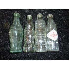 4 Botellas Coca Cola Retro Mas 2 De Regalo