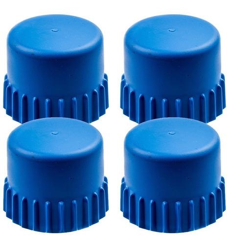 4 botão azul carretel nylon t35 original roçadeira husqvarna