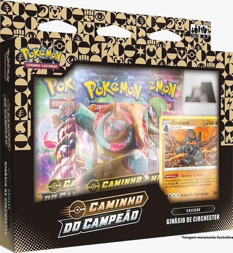 4 box pokémon caminho campeão stow on side circhester lote 2
