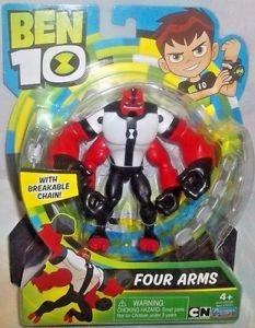 4 brazos, cannonbolt y xlr8