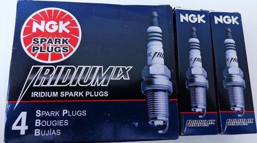 4 bujías ngk iridium ix máxima eficiencia y poder a tu motor