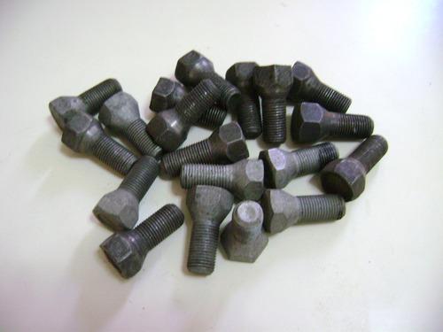 4 bulones ruedas para auto 12,5 x 1,5