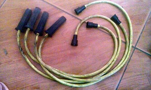 4 cables para encendido de no se que vehiculo