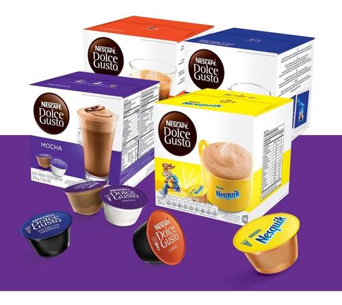4 cajas cápsulas dolce gusto a elección + envío!