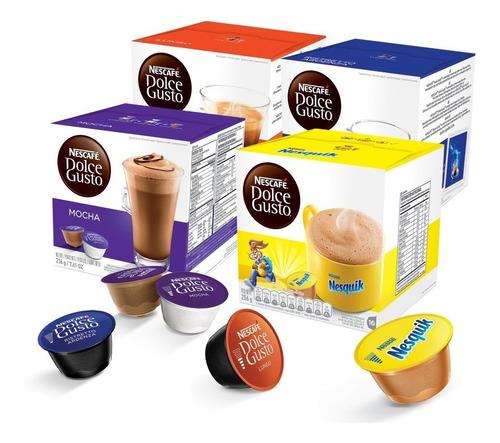 4 cajas cápsulas dolce gusto a elección! envío incluido