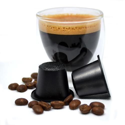 4 cajas de 10 capsulas c/u the coffee store para nespresso