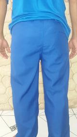 2412aaced Uniforme Para Estacionamento - Calças Masculino Azul no Mercado ...