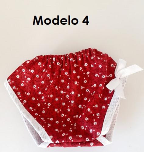 4 calcinha em tecido para boneca baby alive