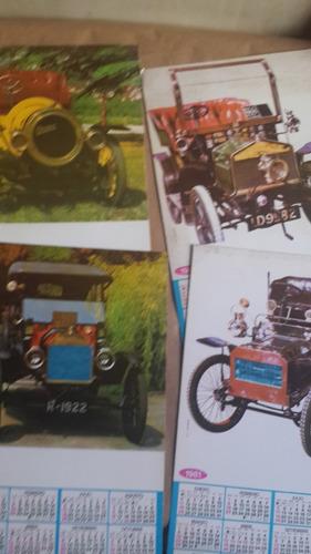 4 calendarios cachilas 1981, 36 x 21