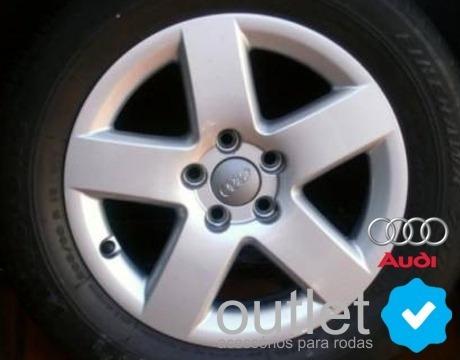 4 calota centro de roda audi a3 / a4 / a6 / a8 / tt / q7 /s3