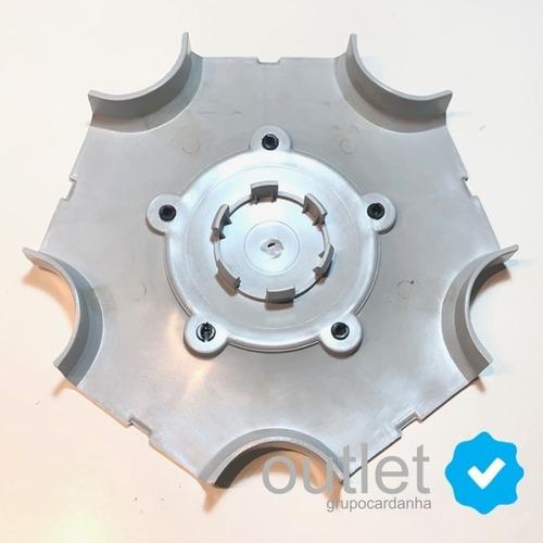 4 calota tampa central da roda gol parati saveiro tsi
