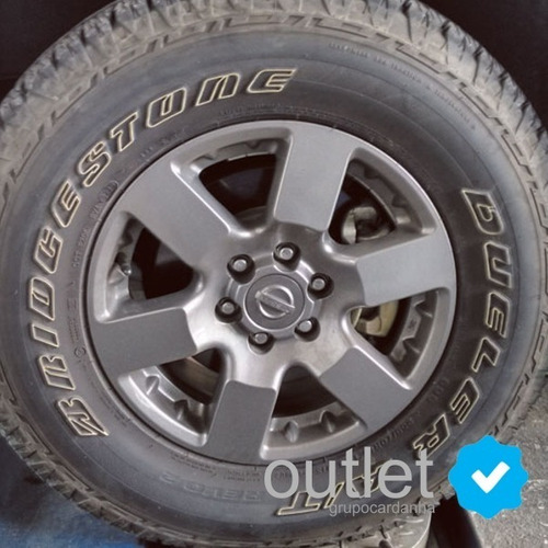4 calotinha centro roda nissan frontier attack 70mm grafite