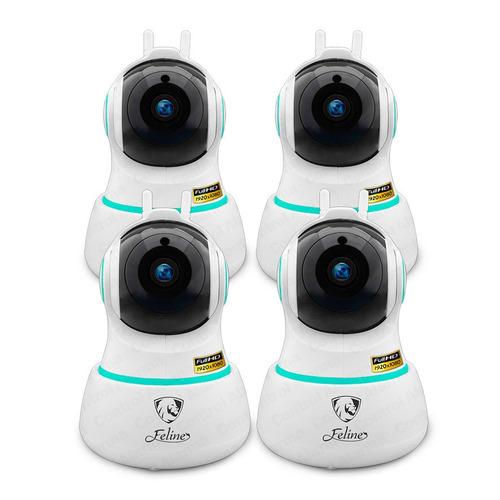 4 camaras ip espias 360 2mp wifi video vigilancia dvr 128 gb